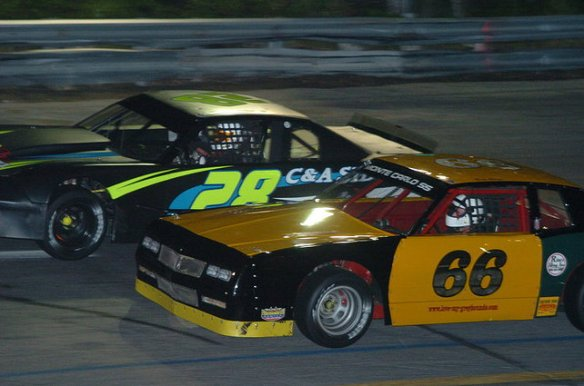 Wall Speedway Photo - Racecars