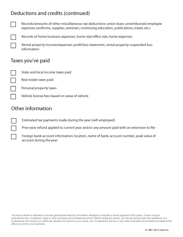 TurboTax_TaxPrepChecklist_Page_3