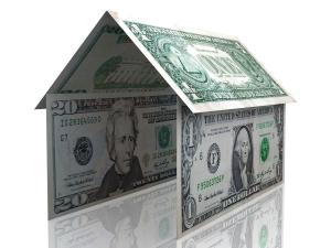 3D dollar house