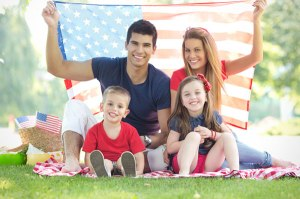 Fourth-of-July-Family